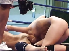Pussylicked dyke loves closeup wrestling