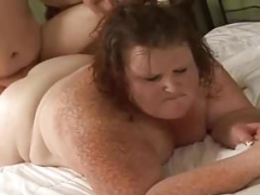 Redhead SSBBW Loves to Give a bj