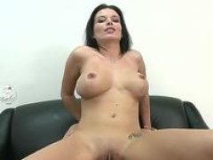 Deluxe bailey brooks riding a huge lever