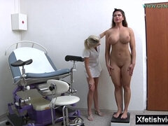 Very busty babe medical fetish