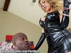 LexingtonSteele phat mounds pulverized by BBC
