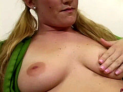 young Jamie Rae takes a fat dark-hued cock rampage