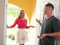 Eager mom next door seduction