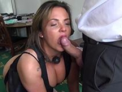 Hardfucked subslut trained by Pascals plump cock