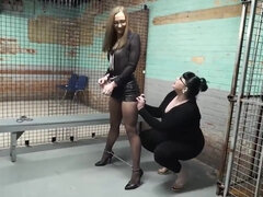 HARD JAIL TIME - fetish femdom with Milf
