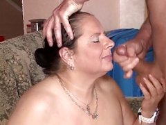 Breasty german milf gets fucked