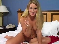 Tammy - Blonde Jerk off Instruction  G121