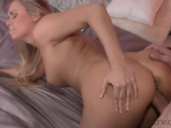 Dane Jones (SexyHub): Submissive blonde squirts everywhere