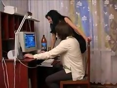 Russian hot aunt and moreover youthful nephew - 1