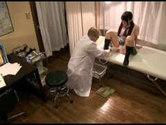 Japanese Perverse Doctor Gyno Sexual Exam To Girl