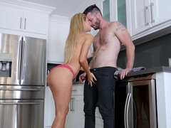 Beautiful milf Cherie Deville seduces her husband's brother