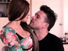 Steak & Bj - Kitana Lure Satisfying orally In The Kitchen