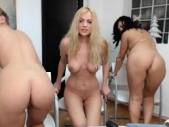Amatør, Blondine, Brunette, Fetish, Lesbisk, Trekant