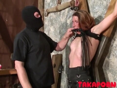 French Bdsm - Training The Mom Slave fetish porn video