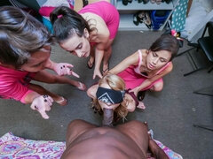 BIG BLACK PENIS sorority initiation game