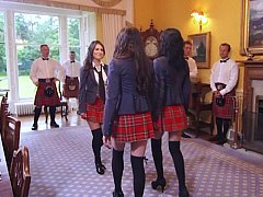 Teacher takes British broad Samantha Bentley