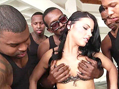 Only For big black cock #14 - Adriana Chechik l Ultimate BBC bi-atch [Extended PMV]