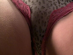 American fresh mature housewife fingering herself
