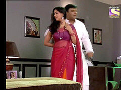 Sakshi Tanwar super hot Indian Aunty getting seduced by a enormous Uncle