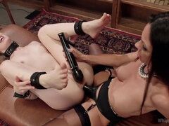 Spanking Therapy: Hot doc treats perverted girl next door!