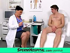 Czech mom i`d like to fuck doctor Danica milking big cock of a boy